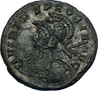 PROBUS Original 278AD VIRTVS PROBI Authentic Ancient Roman Coin w VIRTUS i65814