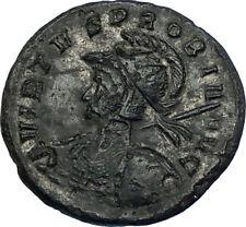 PROBUS Original 278AD VIRTVS PROBI Authentic Ancient Roman Coin w VIRTUS i65814
