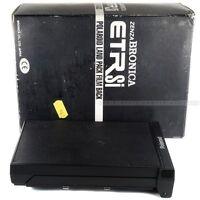 Boxed Zenza Bronica Polaroid ETR Film Back / Holder for ETR ETRS ETRSi
