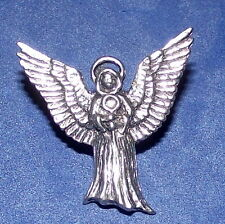 Precioso Angel Peltre Pin Broche