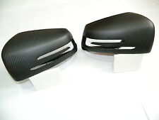 MERCEDES BENZ CARBONE MAT miroir bouchons Mirror replacements AMG Miroir Cover