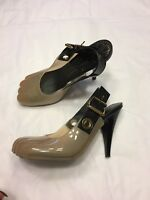 VIVIENNE WESTWOOD x MELISSA £210 animal toe slingbacks heels shoes 37 UK 4