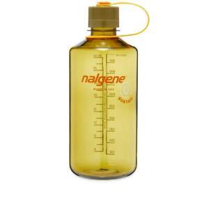 Nalgene Narrow Mouth Sustain 50% Recycled Bottle 1L Olive