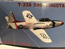 Discontinued Kyosho Foam ARF T-33 Shooting star Ducted Fan Jet