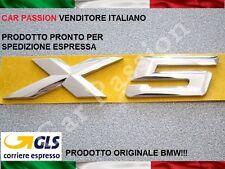 SCRITTA STEMMA BMW X5 F15 PORTELLONE POSTERIORE LOGO SIGLA ORIGINALE REAR SIGN