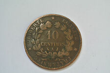 10 CENTIMES 1886 A