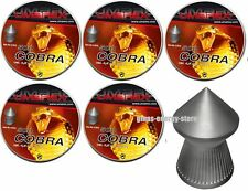 2500 Umarex Cobra Diabolos Diabolo 4,5mm Spitzkopf für Luftgewehr Luftpistole
