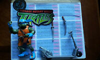 TMNT FIGURE TEENAGE MUTANT NINJA TURTLES SCOOTIN LEO LEONARDO