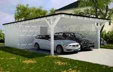 Carport mit Flachdach Carport: 600 x 900 mit Geräteraum Carports ab Werk