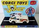 CORGI Juniors Batman THE JOKER Diecast JOKERMOBILE Model Car & Custom Display [a