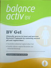 4 x Balance Activ BV Gel (7 applications) **For Bacterial Vaginosis**