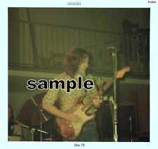 RORY GALLAGHER 1975 SNAPSHOT SET OF 2  5x5 COLOR CLUB much nicer then scans