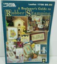 Leisure Arts A Beginner's Guide to Rubber Stamping 1736