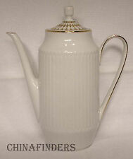 HUTSCHENREUTHER china LUXOR-GOLD pattern Coffee Pot & Lid