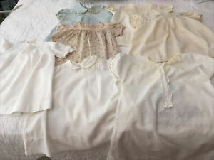 Vintage Baby/Infant Dress Lot (7)