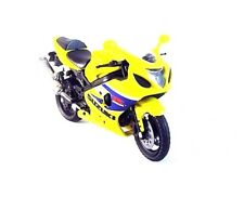 SUZUKI GSX-R600 NEWRAY,YELLOW 1:18 DIECAST COLLECTOR'S MOTORCYCLE MODEL,RARE,NEW