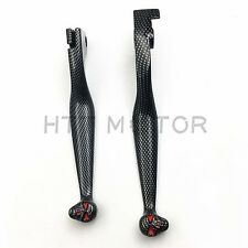 For Honda Shadow 600 750 1100 VTX1300 VT1300 VTX VT 1300 Carbon SKULL LEVERS