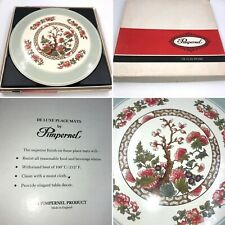🌟Vintage Pimpernel Set Of 6 Indian Tree Round Placemats Boxed Gift