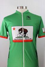 Giordano Mens Size Xxxl California Peddler Bear Cycling Jersey Green Made Italy