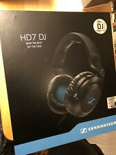 Sennheiser HD7 DJ Headband Headphones - Black/Blue