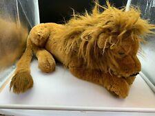 Sigikid Stofftier Sammler Löwe liegend 53 cm. Top Zustand