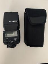 Canon Speedlite 430EX III-RT Flash. Perfect condition.