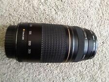 Canon Camera lens Ef  75- 300mm ii, 1:4, 5.6
