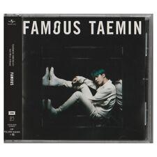 TAEMIN Solo Mini Album [FAMOUS] Japanese Regular Edition CD - Free Shipping