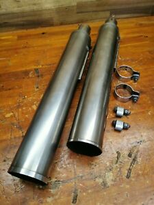 Moto Guzzi Bellagio 940 Exhaust Silencer Pipes Cans Slip On