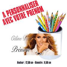 Gobelet stylos ou Brosse à dents personnalisé CELINE DION