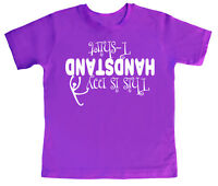 """Child's T-Shirt """"This is My Handstand T-Shirt"""" Cool Gymnastics Club Top Gift"""
