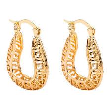 Womens Boho Gold-Color Hollow Pattern Stylish Charm Stud Pierced Earrings 800926
