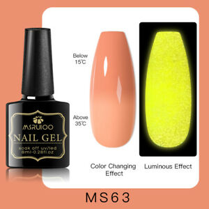 MSRUIOO Luminous Color-Changing UV Gel Nail Polish Soak Off Salon Manicure MS63
