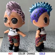 Ultra Rare Baby Kids Punk Boi Boy Confetti Pop Doll collect toy -Color change