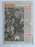 Die Neue Fußball-Woche, Nr. 33, 32. Jahrgang, DDR-Zeitung 1980, Fu-Wo