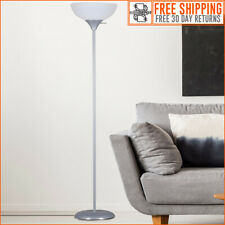New ListingFloor Lamp, 71 Inch Tall Living Room Bedroom Standing Light Durable Scoop Shade