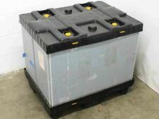 Jsi Jsi 0047 Collapsible Plastic Shipping Pallet Storage Container 24w X 32d