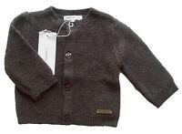 Strick Jacke Gr.44 Noppies NEU 100% Baumwolle grau baby newborn frühchen