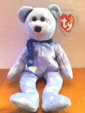 NEW TY BEANIE BABY HOLIDAY TEDDY BEAR FROM 1999 WITH TAGS AND IN PLASTIC BAG