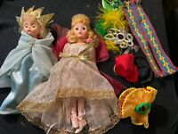 Lot 2 Madame Alexander Dolls Tooth Fairy Portrette Miss Statue Liberty America