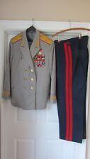 X-RARE Soviet Army Russia USSR MARSHALL's PARADE UNIFORM!!--HERO of USSR!