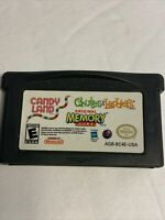 CANDY LAND/CHUTES AND LADDERS/MEMORY NINTENDO GAME BOY ADVANCE GBA SP