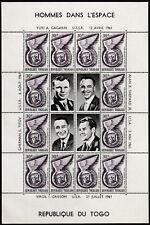 Togo Space Exploration Yuri Gagarin 30F souvenir sheet MNH 1961