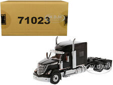 INTERNATIONAL LONESTAR SLEEPER CAB TRUCK BLACK 1/50 MODEL DIECAST MASTERS 71023