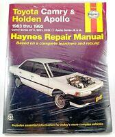 Haynes Toyota Camry Holden Apollo 83/92 Repair Manual No 92705 Sealed