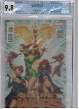 Secret Wars 9 Campbell Variant Cover CGC 9.8 Midtown Comics Edition