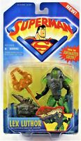 Superman Animated Lex Luthor Kryptonite Armor Action Figure Kenner 1996 New