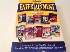 Swift Family Entertainment Suite 10 Pack PC Windows 98/2000/XP Games NEW - K