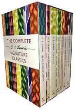 The Complete C. S. Lewis Signature Classics 7 Books Boxed Set Collection NEW