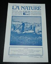 REVUE LA NATURE N°2693 1925 PETROLE POLSKA / AUTOGIRE LA CIERVA / COURSES AUTO